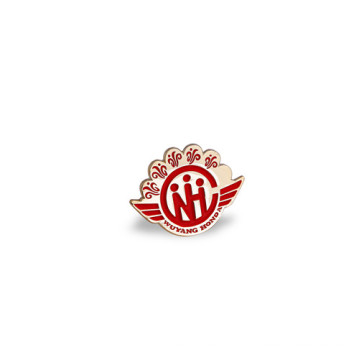 Épinglette émail, insigne de forme irrégulière (GZHY-LP-022)