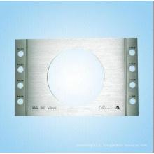 Shell de carimbo de alumínio fabricado para vídeo automático