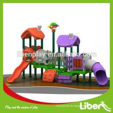 Outdoor Spielplatz, Vergnügungsparkfahrt Typ und Metall Ausrüstung, Glasfaser Material Kinder Innenschwingen Set LE.QS.020