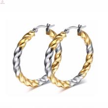Matériel à la mode d'acier inoxydable en métal pour la fabrication de conceptions de boucle d'oreille