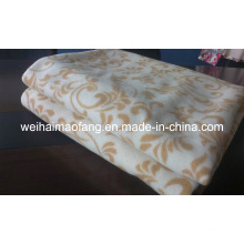 Тканые шерстяные 100% кашемир одеяло (NMQ-CWB002)