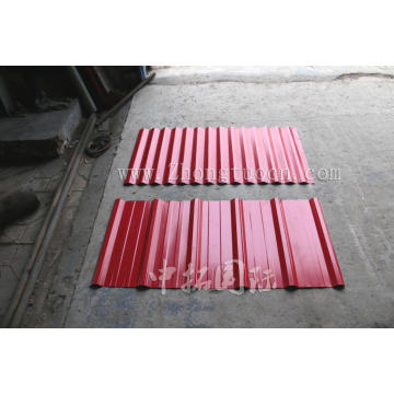 Cold Double Deck Corrugated Roof Sheet Membuat Mesin