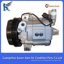 Venta caliente a estrenar ZXEXL DKV14G eléctrico 12v ac compresor para SUBARU
