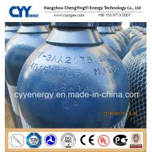 50L Sauerstoff Stickstoff Lar Acetylen CO2 Hydrogeen 150bar / 200bar Nahtloser Stahl Gasflasche