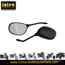 Espelho retrovisor de alta qualidade da motocicleta 10 milímetros cabe para YAMAHA Ybr125