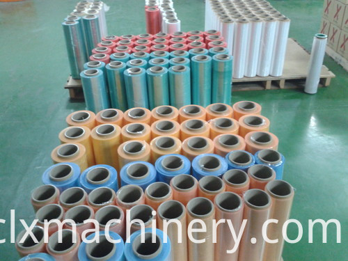 embossing film machine