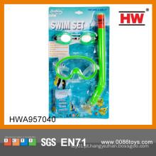 Máscara de mergulho e snorkel venda quente para crianças