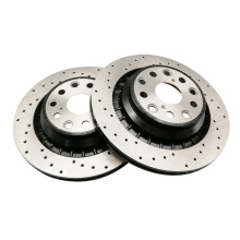 Pads and discs brake disc rotors for mercedes w164 w204 w166 ml