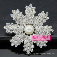 charming fashion crystal brooch pin