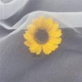 Fashion Seersucker Organza Tulle Fabric for Children's Dress