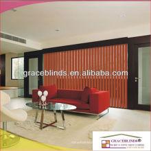 89MM heiße verkaufende vertikale Vorhänge für Hauptdekoration