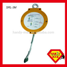 SRL-3M 15kN,Dynamic Force 6kN,retractile, Self Retracting Lifeline