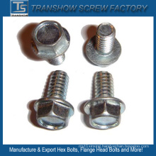 China Wholesale Cheap Price Zinc Galvanized DIN6921 Hex Flange Bolt