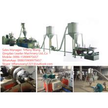 Extrusor gemelo cónico del tornillo / máquina granular del PVC / máquina plástica del extrusor