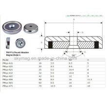 Kundenspezifische Neodym-Cup-Magnete / Magnet Haken / Neodym-Topf mit bestem Preis