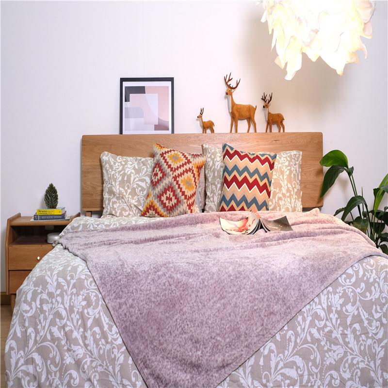 Dyed Stripe Woven Blanket