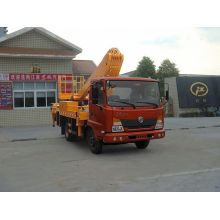 2018 new Dongfeng 4x2 arm telelift bucket truck