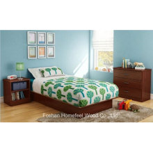 3 Piece Kids Bedroom Set in Royal Cherry