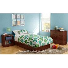 3 Piece Kids Bedroom Set in Royal Cherry