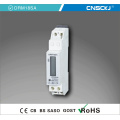 1p DIN Rail Single Phase 60V DC Energy Meter