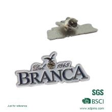Étiquettes nominales bon marché en métal / plaque d'identification d'aimant faite sur commande