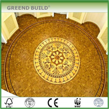 Lowes Palatial Medallion Noble House Wood Parquet Flooring