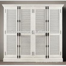 Melhor qualidade plantação obturador roupeiro porta design interior decorativo plantação persianas da China
