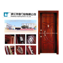 Turkish Style Steel Wooden Armored Door with Factory Price