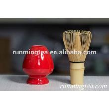Suporte de matcha de porcelana