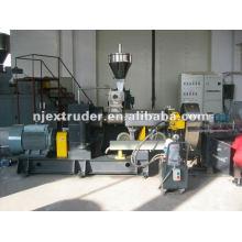 Zweistufige Compoundier-Extruder-Maschine für PVC / PP / PE-Granulate