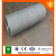 (Hersteller) verzinkt / PVC-beschichtetes Sechskant-Maschendraht- / Vieh-Draht-Netz
