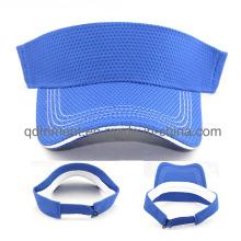 Мода Breathable полиэфирной ткани спорта Солнцезащитный козырек (TRNV096)