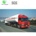 Semi-remolque de transporte de gas licuado de propileno