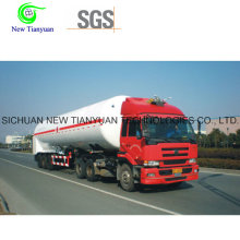 Semi-remorque de transport de gaz liquéfié de propylène