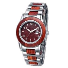 Reloj de cuarzo del nuevo estilo 2016, reloj de madera de la manera Hl-Bg-164