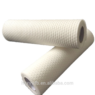 Non woven perforated absorbent dish cloth roll