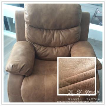 Толщиной кабального 3 слоя полиэстера кожаный диван ткань