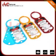 Elecpopular Últimos produtos em segurança de mercado Aluminim Alloy Labeled Lockout Hasp com todas as cores