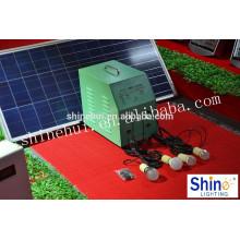 Sistema home solar 1kw, sistema home solar portátil sistema home solar da luz