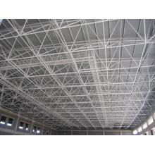 Telhado de piscina de tamanho grande com estrutura de quadro de espaço