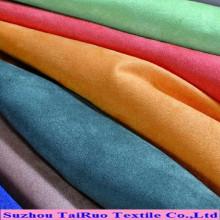 Camurça de couro micro com impermeável para tecido de pano
