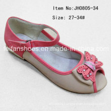Popular Kids Fish Head Shoes Single Shoes Flat Shoes (FF0808-34)