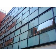Muro de cortina de vidrio laminado templado para edificio de oficinas de estructura