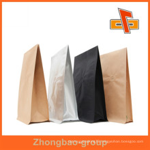 Guangzhou manufacturer moisture proof feature stand up aluminium foil paper bag for coffee beans packing