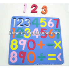 Educational eva toys puzzle