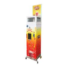 Geschäft mit Verkaufsautomaten für Popcorn