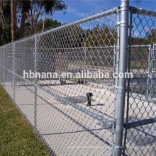 9 gauge galvanized chain link fencing cheap protecting fencing / application chain link fence