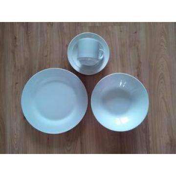 Good Quality White Porcelain Dish Set