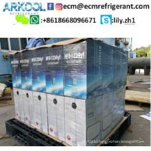 substitution gas r134a new refrigerant R1234yf HFO-1234YF gas for Car A/C