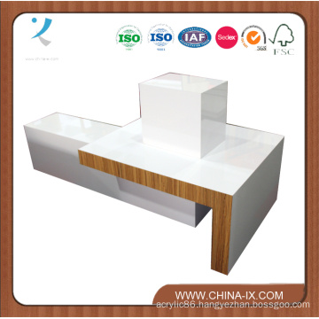 Wooden Display Table for Garment Store